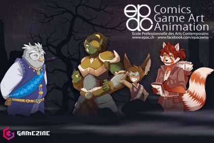 collaboration epac gamezine