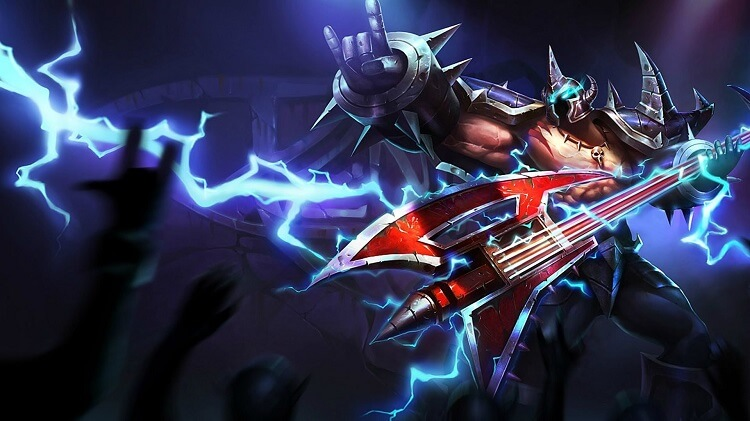 league of legends mordekaiser rock