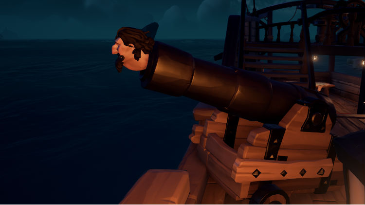 Guide Sea of Thieves canon