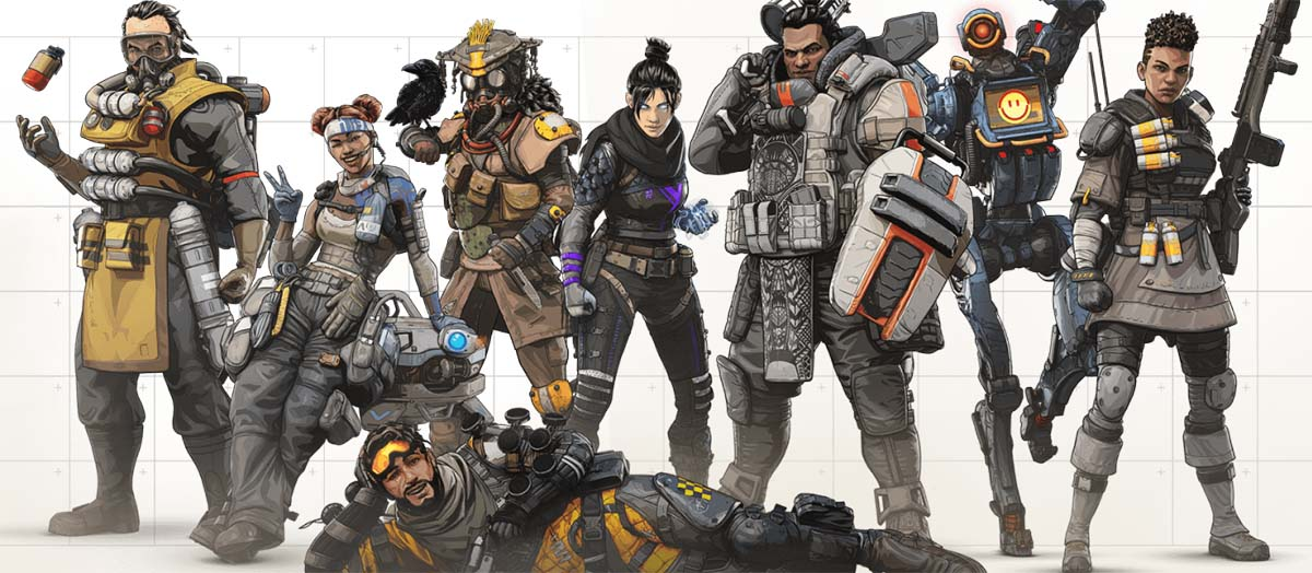 Apex Legends légendes